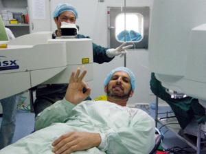 新西兰跆拳道高手Willson在上届活动中成功摘镜 供图