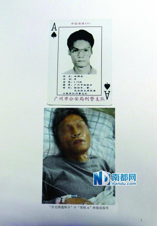林锦成跳楼自杀受重伤,目前仍在重症病房。 警方供图