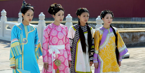 韦小宝的四位老婆