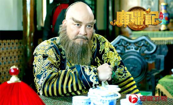 赖水清本人在《鹿鼎记》中扮演鳌拜