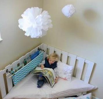看看国外儿童房装修金点子:卧室小细节影响孩子大