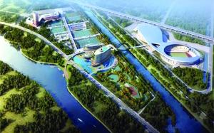 南京青奥体育公园 资料图片