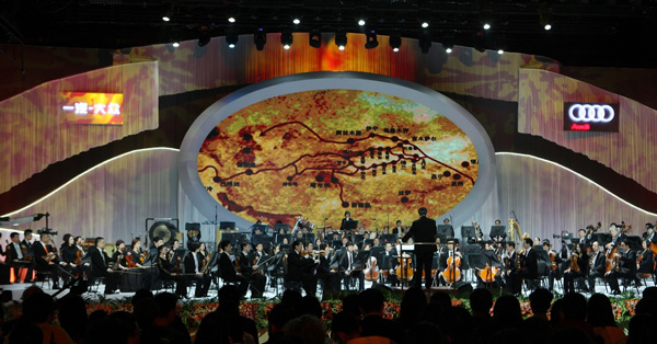 奥迪英杰汇品牌大使、著名指挥家余隆带领中国爱乐乐团,倾献多首独具特色的音乐作品