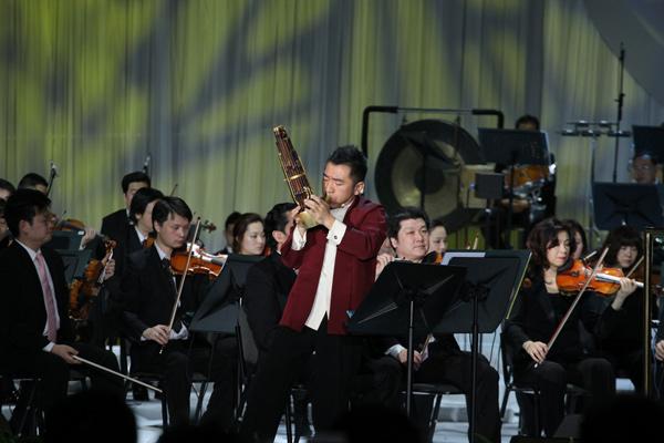 《晋调》在著名笙演奏家吴彤的诠释下风雅脱俗、韵味深远