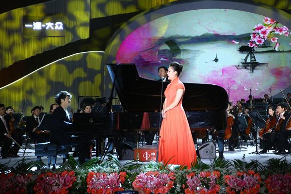 余隆、郎朗、雷佳联袂带来经典歌曲《浏阳河》的精彩演绎