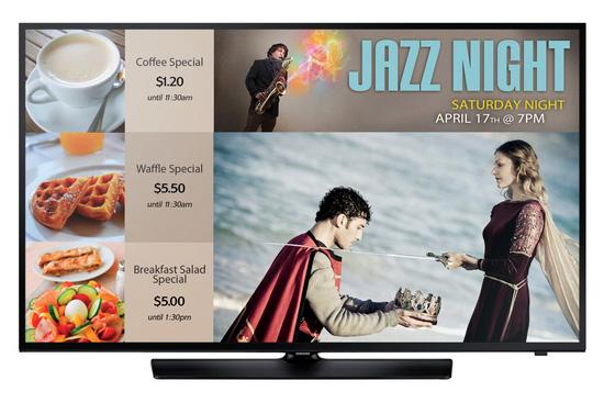 三星智能数字标牌电视