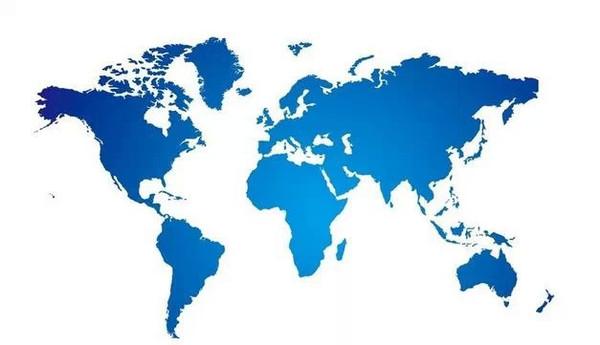 七大洲面积排序图片