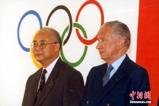 """何振梁用这样一个词来形容自己走上体育之路的原因―""""阴差阳错""""。""""我完全是在毫不知情的情况下开始了与奥运会的第一次接触。"""""""