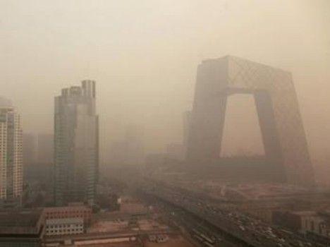 北京雾霾天 资料图