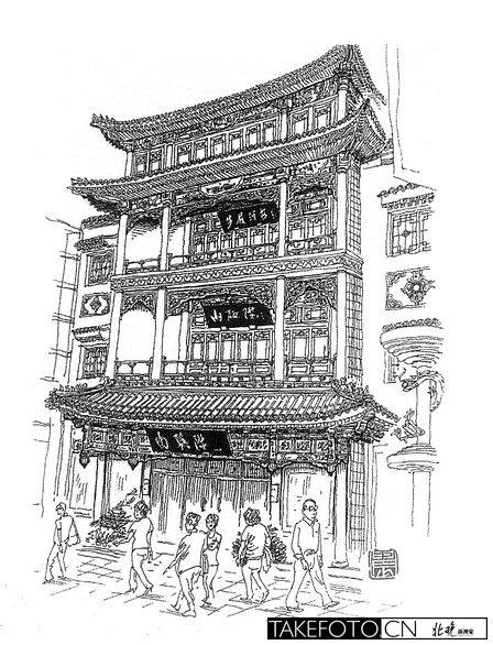 """内联升总店:内联升总店,位于大栅栏步行街内路南。始建于清咸丰三年(1853)。过去北京有一句老话说""""爷不爷先看鞋"""",要出门买好鞋就上内联升。"""