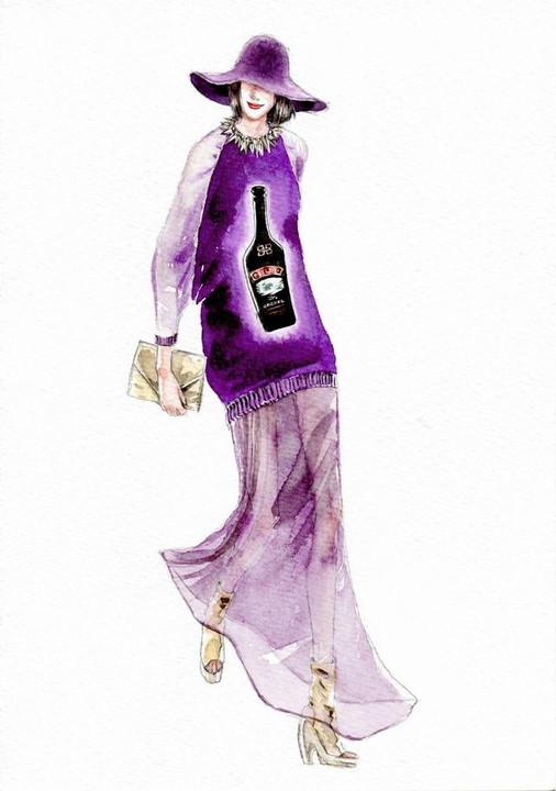 酒色色网撸撸_黑色墨镜,丝质香槟金衬衫,奶酒色毛呢料套装,裸色金属扣雾面包,驼色贴
