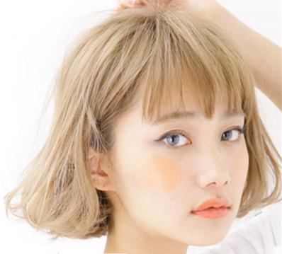 圆脸女生适合的短发,瘦脸发型还你v字小脸