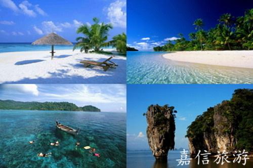 长岛蓝湾blue bay或五象级酒店 主要景点:快艇大pp岛 小pp岛 碧绿湾