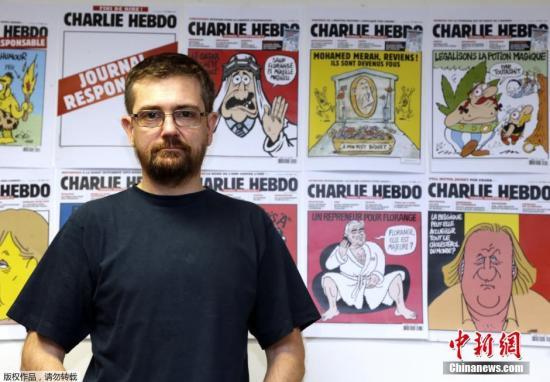 当地时间7日,法国讽刺漫画杂志《查理周刊》(Charlie Hebdo)位于巴黎的总部遭武装分子袭击,导致12人死亡。图为漫画家Cabu。