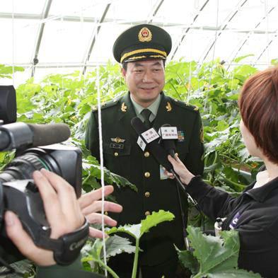 资料图:武警总队后勤部原副部长傅凌调任武警交通部队司令员。
