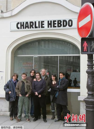 好莱坞声援查理周刊 称攻击系卑劣恐怖主义行为