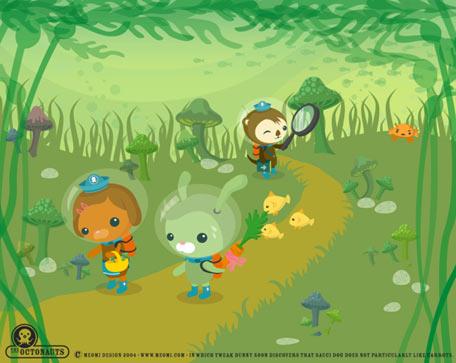 幸星动画 海底小纵队 为孩子打造绿色动画空间 组图