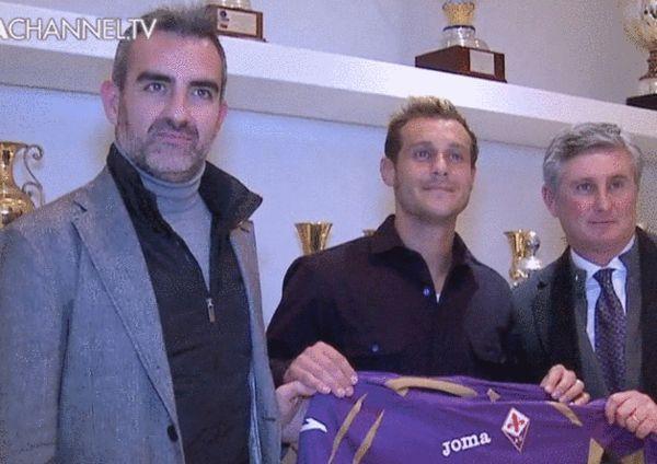 迪亚曼蒂正式加盟佛罗伦萨队