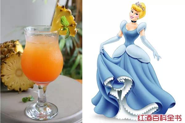 3,灰姑娘鸡尾酒(cinderella)画技巧小剑眉图片