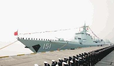 中华神盾舰未参加全训演练直接完成视频置换考核股骨头手术国际图片