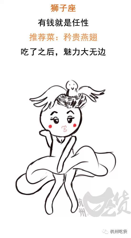 霸气动物狮子条纹简笔画