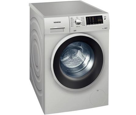 西门子WM12S4680W滚筒洗衣机是3D变速滚筒洗衣机里的一款全新机型,真题银灰色的色调搭配刚毅的线条,给人一种冷峻而绅士的视觉感受,门圈仍然采用了黑色的设计设计风格。8kg的洗涤容量可容纳更多的衣物,也能洗涤床单、被罩等大型家居用品。