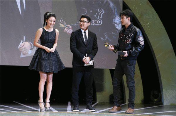 最佳男主角颁奖-安以轩王岳伦