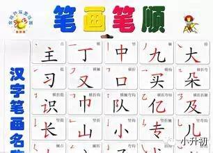 国家规定的汉字笔顺