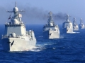 """中国军舰访英""""引围观"""""""