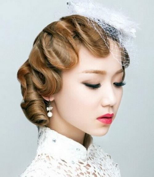 5年新娘编发发型