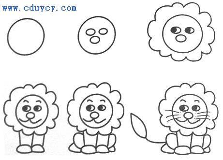 简单易学的简笔画,让你的孩子更出众!
