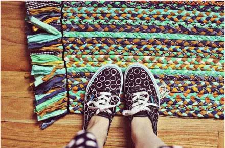 diy地毯制作编织方法