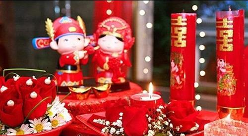 吉美分享:现代中式婚礼流程安排表 新式传统又时尚