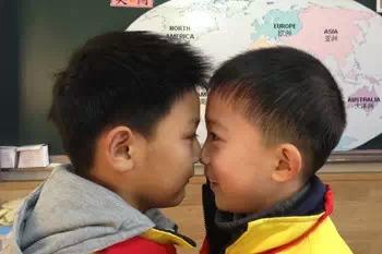 德清莫干山外国语图片v图片增进国际见面年级小学小学生书签大全礼仪的图片
