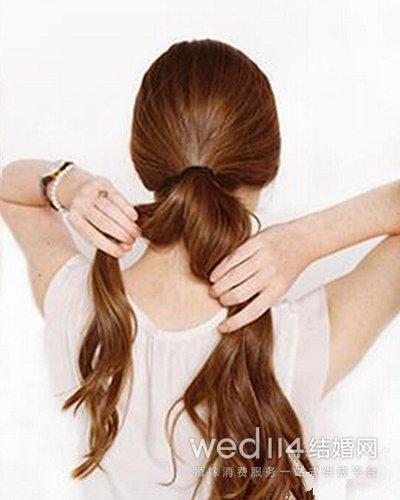 新娘发型详细步骤图解 优雅简约范儿