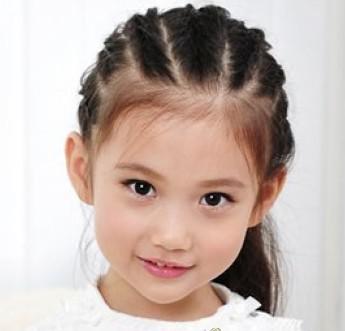 有女儿这样给她扎头发,超好看的mm发型!