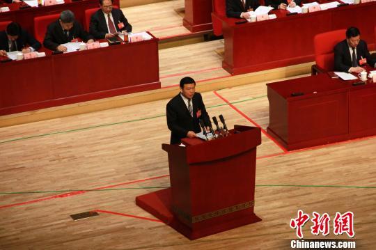 陕西人大会议开幕。 张一辰 摄
