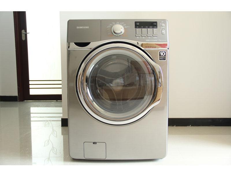三星WD175ACYKSU洗衣机为钛晶灰箱体,线条流畅富有美感。采用多项先进技术,包括泡泡净技术、双喷射水流、VRT静音减震技术。配有钻石型内筒和性能优良的智能变频电机。