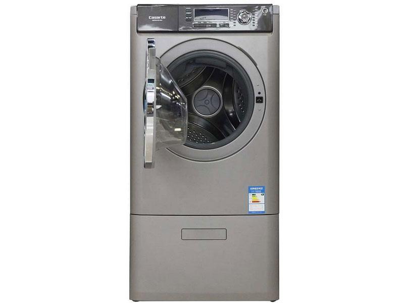 由于卡萨帝 XQGH80-HB1466A洗衣机为双层复式设计,这使得洗衣机可以实现一机多用。洗衣机的上层可以洗烘衣物,下层进行负离子杀菌,不失为洗衣的一种新体验。另外要说的是洗衣机的至柔洗护 ,出色的洗护能力使该款洗衣机具有洗护顶级面料的功能。