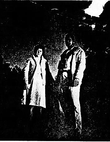 """希尔佳耦站在他们发觉UFO的中央图像来历:""""蓝皮书方案""""陈述"""