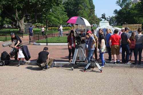 剧组远赴美国拍摄