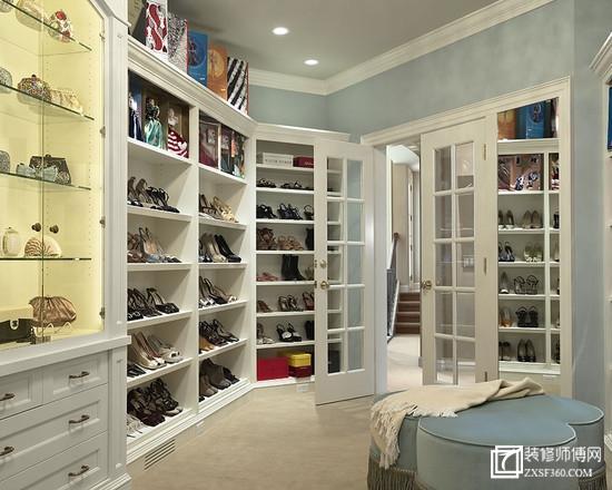 门口鞋柜立面图