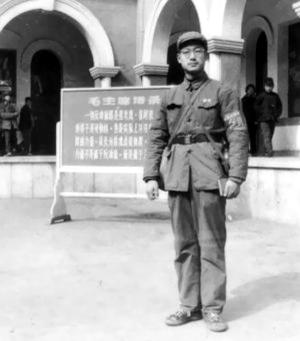 陈东平在就读哈军工期间拍摄。