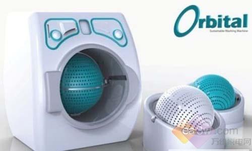 这款双轴滚筒洗衣机利用离心原理,对衣物进行洗涤,洗衣效果比普通滚筒洗衣机更干净。使用时,当您将装有脏衣物的可移动式滚筒嵌入洗衣机内部后,电机便开始带动转轴工作,同时依靠衣物自身重量,滚筒可以实现360度旋转。