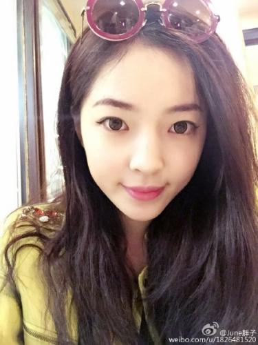 王钟瑶微博。