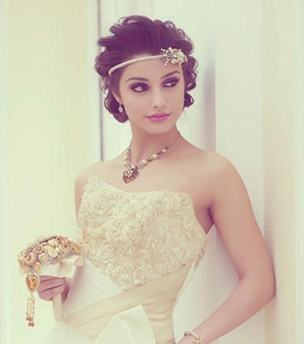 短发新娘怎么拍出唯美婚纱照?图片