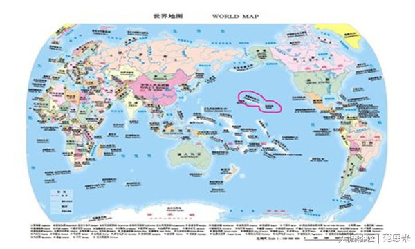 新闻 正文  从地图上看,这是个远离美洲大陆,亚洲大陆和澳洲大陆的几