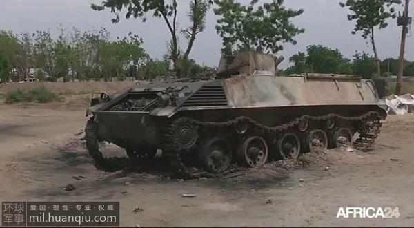 原文配图:恐怖分子所使用的装甲车图片
