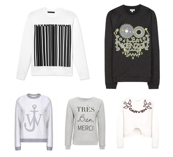 Chic Ladies! Sweatshirt On!
