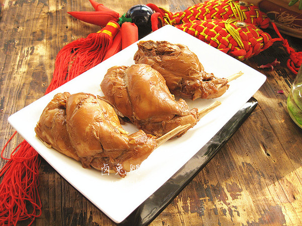 宁夏 青年 味道/兔腿采用闷、煮、泡、煮工序,耗时较长,味道自然没得说;浸泡...